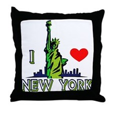 ...I Love New York... Throw Pillow
