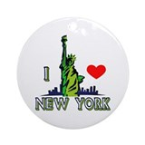 ...I Love New York... Ornament (Round)