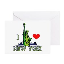 ...I Love New York... Greeting Cards (Pk of 10)