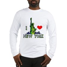 ...I Love New York... Long Sleeve T-Shirt