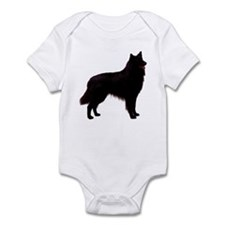Black Belgian Shepherd Infant Bodysuit