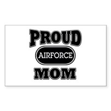Proud Airforce Mom Rectangle Decal