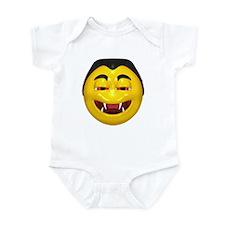 Laughing Vampire Face Infant Bodysuit