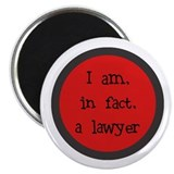 I am, in fact, a lawyer Magnet