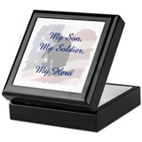 My Son, My Hero Keepsake Box