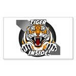 Tiger Inside Sticker!