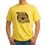Tiger Inside Yellow T-Shirt