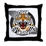 Tiger Inside Throw Pillow