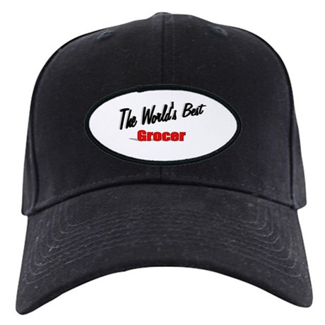 """The World's Best Grocer"" Black Cap"
