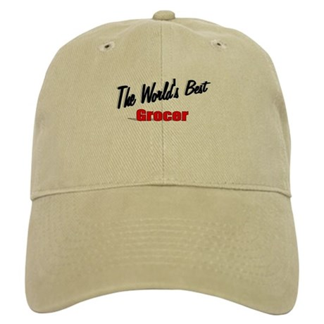 """The World's Best Grocer"" Cap"