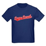 Retro Cape Coral (Red) T