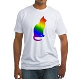 Rainbow Gay Pride Cat Shirt