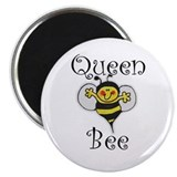 "Queen Bee 2.25"" Magnet (10 pack)"