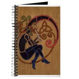 Celtic whistle player Journals