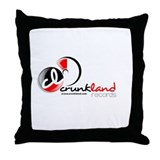 CrunkLand Records Throw Pillow