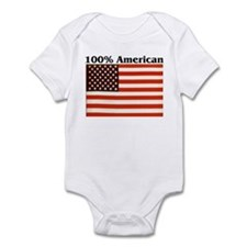 100% American Infant Creeper