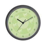Little Frogs Wall Clock