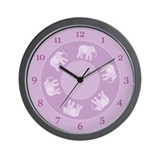 Elephant Dance Wall Clock