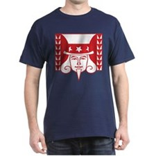 Uncle Sam Illustration T-Shirt