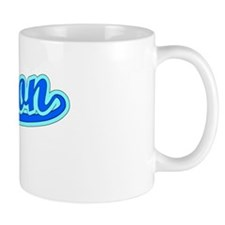 Retro Trenton (Blue) Small Mug