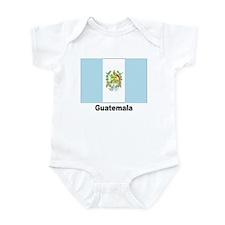 Guatemala Flag Infant Creeper