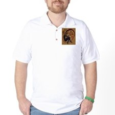 Celtic Whistle Player Golf Shirt