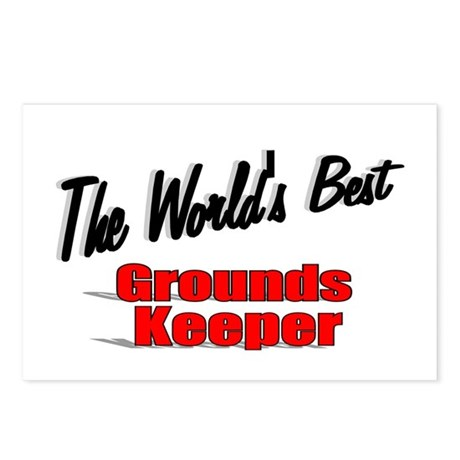 """The World's Best Grounds Keeper"" Postcards (Packa"
