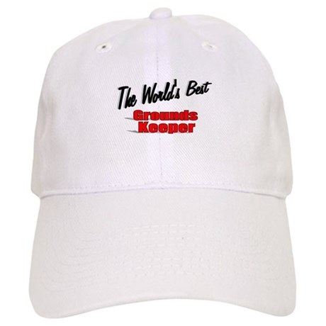 """The World's Best Grounds Keeper"" Cap"