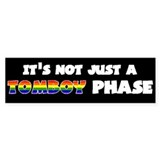 Tomboy Phase Bumper Bumper Sticker