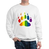 Rainbow Bear Paw Sweater