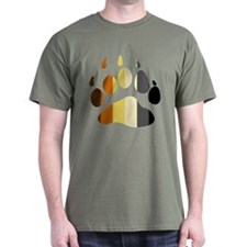 Bear Strip Paw T-Shirt