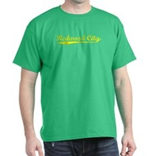 Vintage Redwood City (Gold) T-Shirt