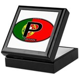 Portugal Oval Colors Keepsake Box