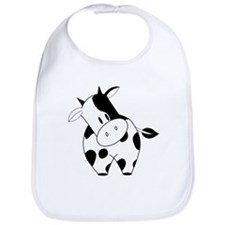 Cute Cow Bib