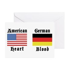 American German Greeting Cards (Pk of 20)