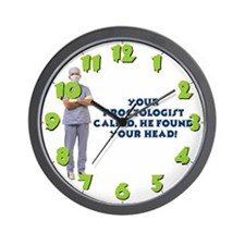 Wall Clock-Your Proctologist