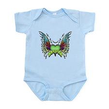 Amazing Butterfly Winged Hear Infant Bodysuit
