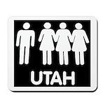 Utah Polygamy Mousepad