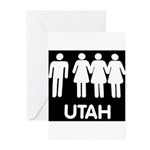 Utah Polygamy Greeting Cards (Pk of 20)