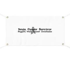 BRAIN CANCER SURVIVOR Banner