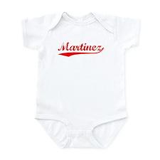 Vintage Martinez (Red) Infant Bodysuit