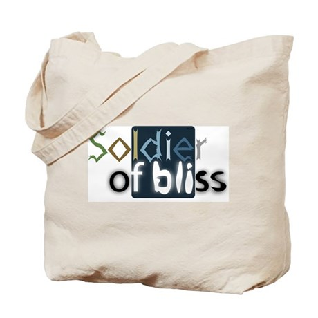 Soldier of Bliss Tote Bag