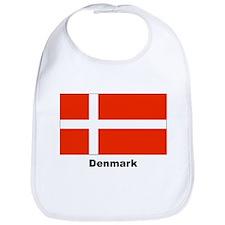 Denmark Danish Flag Bib