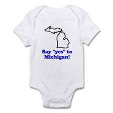 Say Yes to Michigan Infant Bodysuit