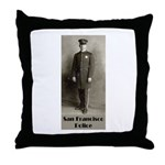 SFPD 1910 Throw Pillow