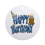 Birthday Boy Keepsake (Round)