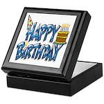 Birthday Boy Keepsake Box
