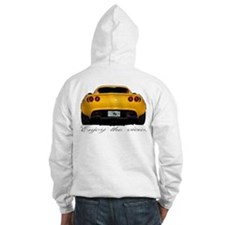 Yellow Elise UK/Enjoy the view. Hoodie