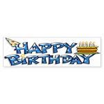 Birthday Boy Bumper Sticker