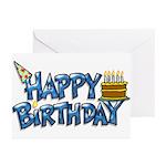 Birthday Boy Greeting Cards (Pk of 10)